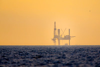 Offshore Platform at Dawn